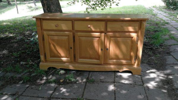 Шкаф в стил Рустик, масивна изработка