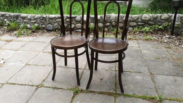 Трапезни столове във Виенски стил