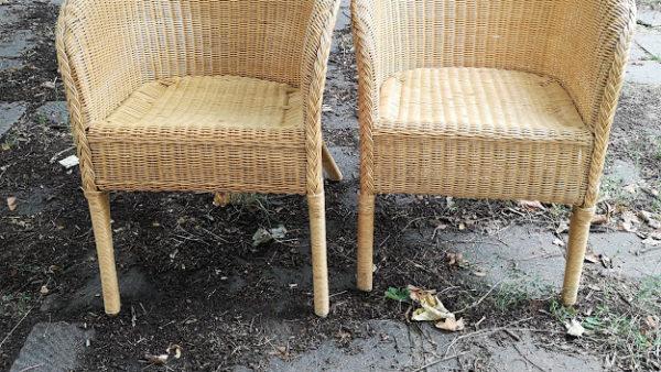 Кресла от естествен бамбук и ратан
