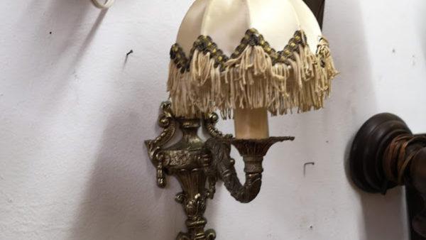 Нощна лампа за стена от месинг