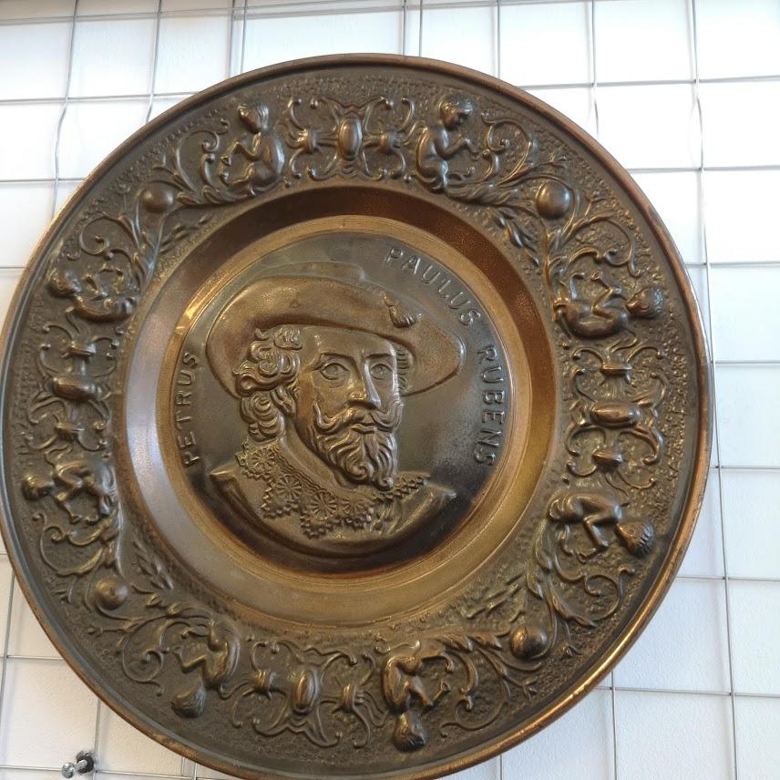 Rachno darpana dekoratsiya za stena ot med-1
