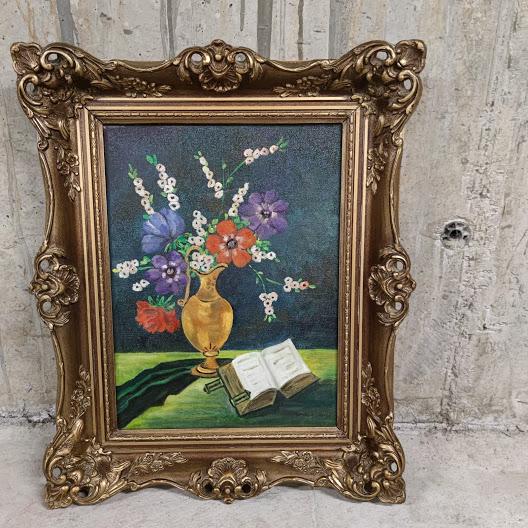 Kartina masleni boi varhu platno ,ramka v stil Barok-2