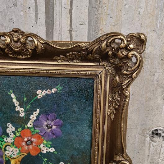 Kartina masleni boi varhu platno ,ramka v stil Barok-3
