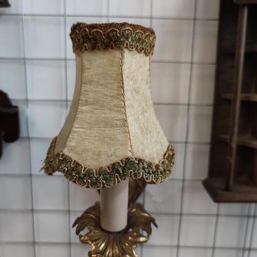 Noshtna lampa za stena ot mesing-4