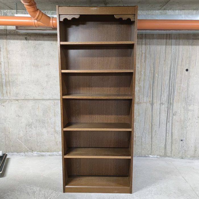 Biblioteka v stil Rustik-1